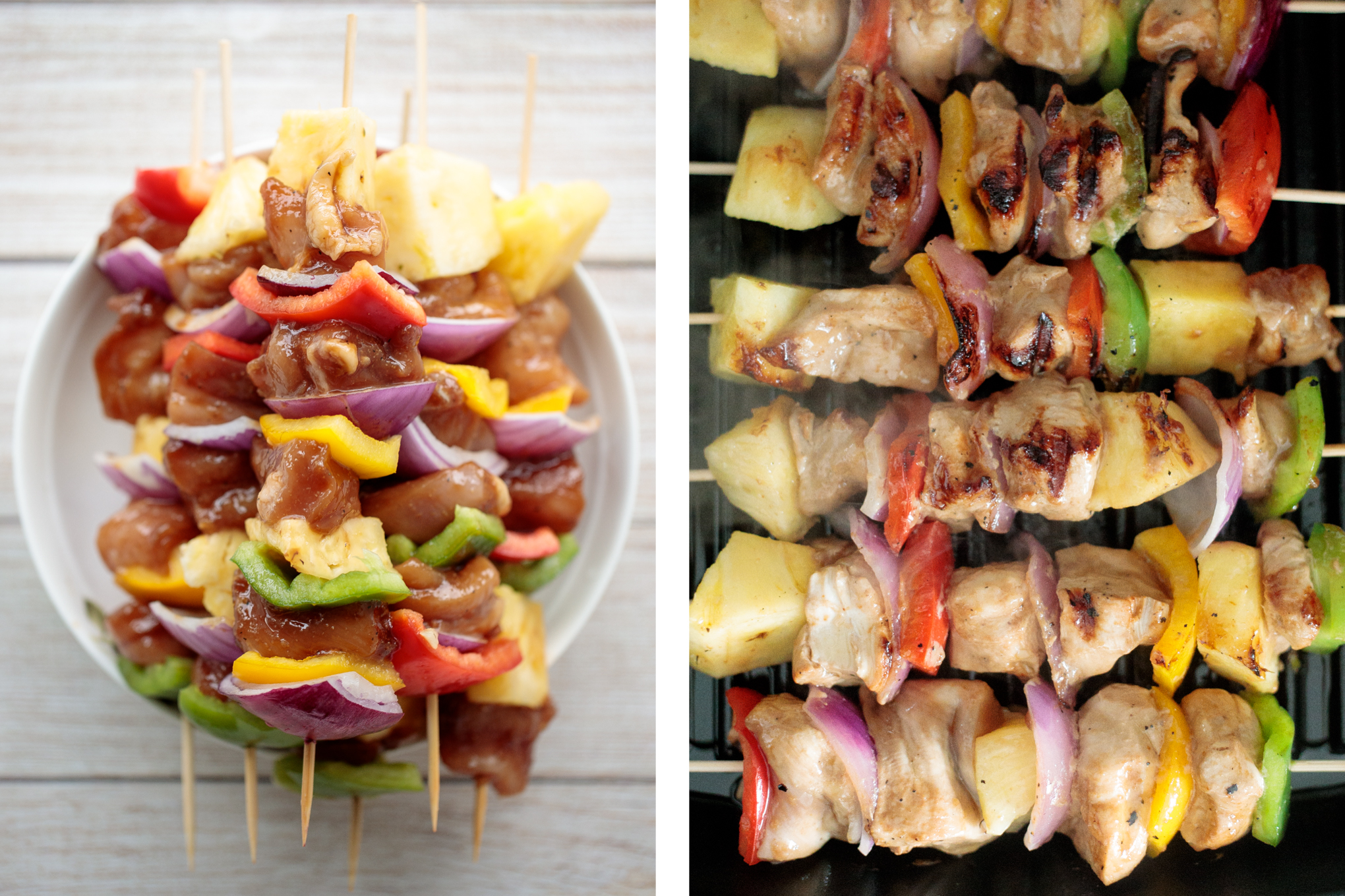 Teriyaki Chicken Skewers With Pineapple Aheadofthyme Com Ahead Of Thyme