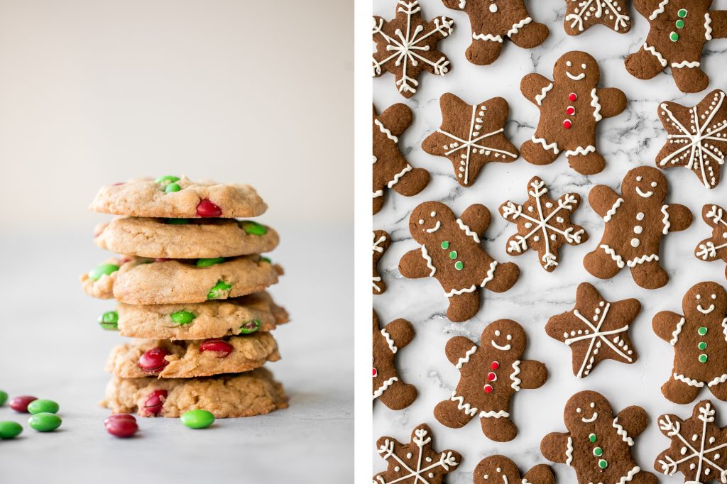 Browse the top 30 most popular best Christmas cookies to add to your holiday baking list, from sugar cookies to gingerbread men to shortbread and more. | aheadofthyme.com