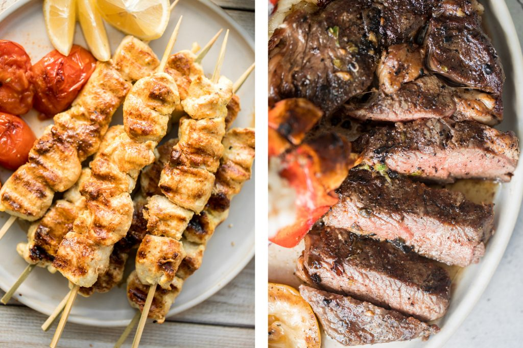 Fire up the grill for these top 15 quick and easy summer grilling recipes including grilled skewers, steak, chicken, seafood and lamb, in under 30 minutes. | aheadofthyme.com