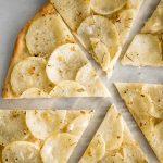 Classic Roman Herbed Potato Pizza