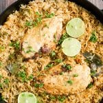 One Pot Coconut Curry Chicken and Rice