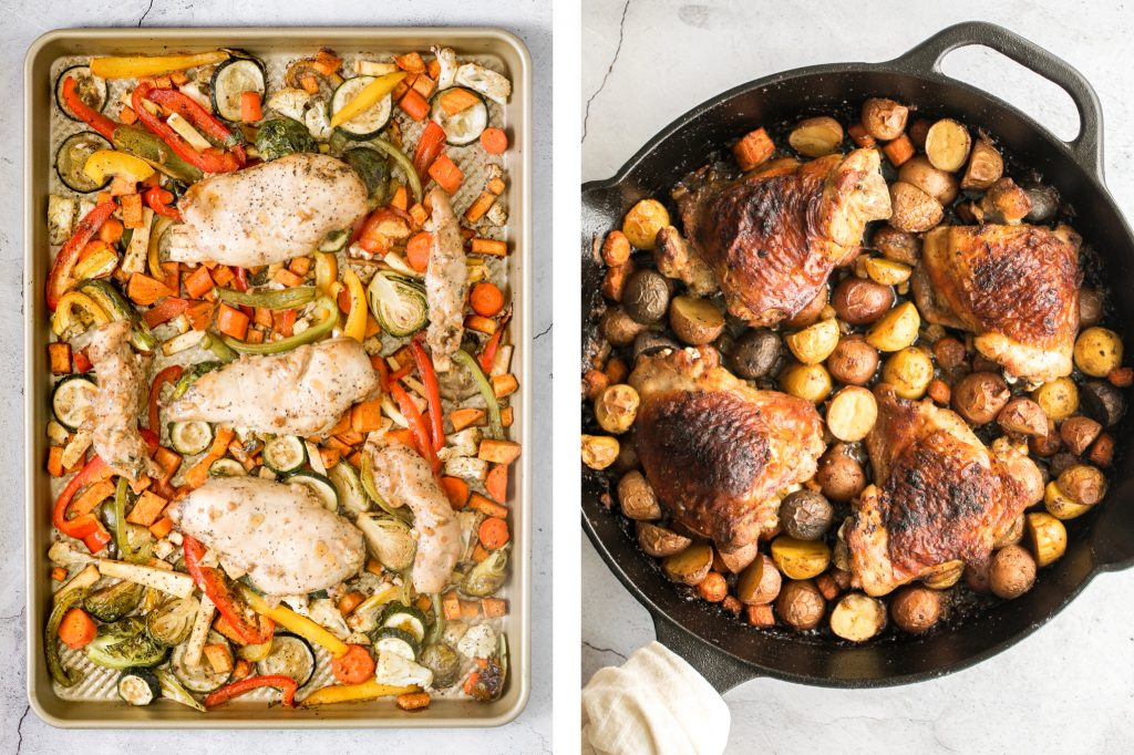 Top 25 most popular quick and easy chicken recipes from sheet pan dinners to skillet one pot meals to slow cooker chicken and MORE = easy weeknight dinner. | aheadofthyme.com