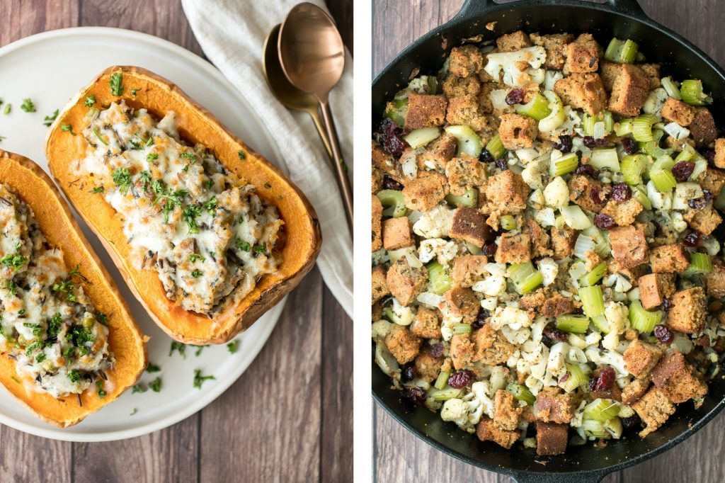 Browse the top 50 most popular best Thanksgiving side dishes recipes for the holidays from potatoes, stuffing, squash, brussels sprouts, soup, salad & more. | aheadofthyme.com
