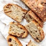Fruit and Nut Sourdough Bread
