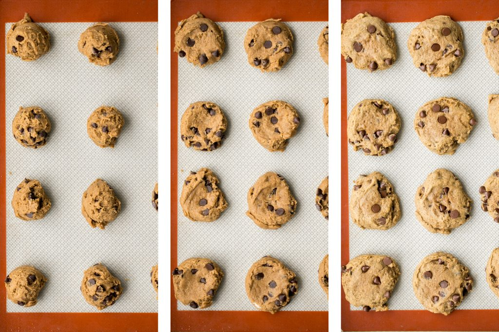 Thick, fluffy, chewy pumpkin chocolate chip cookies is when pumpkin bread meets chocolate chip cookies. These no chill cookies are ready in under 20 mins.   aheadofthyme.com