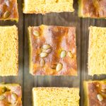 Pumpkin Focaccia with Fresh Herbs