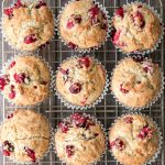 Cranberry Yogurt Muffins