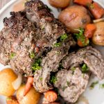 Easy Roast Lamb with Vegetables