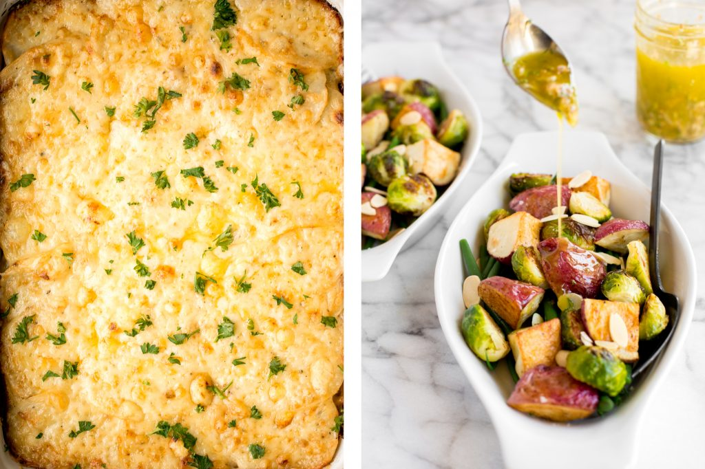 Browse the top 50 most popular best Christmas side dishes recipes for the holidays from potatoes, cheesy casseroles, vegetable sides, fresh salads and more.   aheadofthyme.com