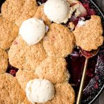 Cranberry-Apple Cobbler with Biscuits