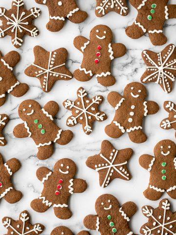 Gingerbread Cookies   aheadofthyme.com