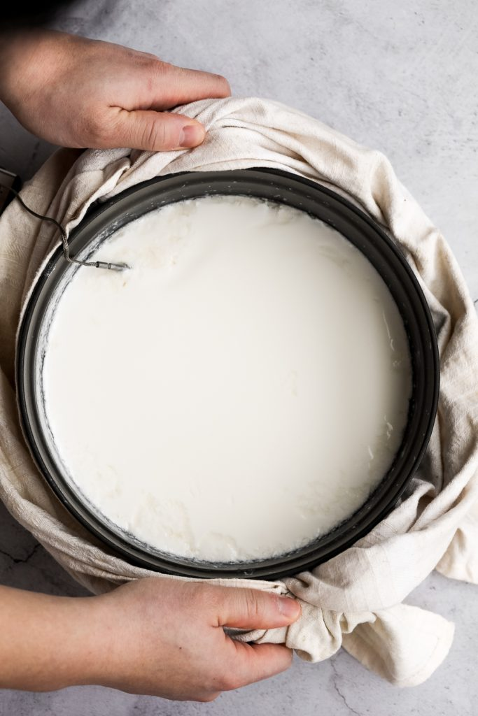Thick and creamy homemade yogurt is so easy to make at home with just 2 ingredients, a heavy pot, and just a few minutes of actual hands on prep work. | aheadofthyme.com