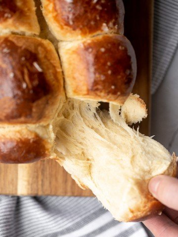 Brioche bread is a buttery, soft and pillowy pastry-like bread rich in flavour with a beautiful golden brown crust. Made with 20 minutes of prep work. | aheadofthyme.com