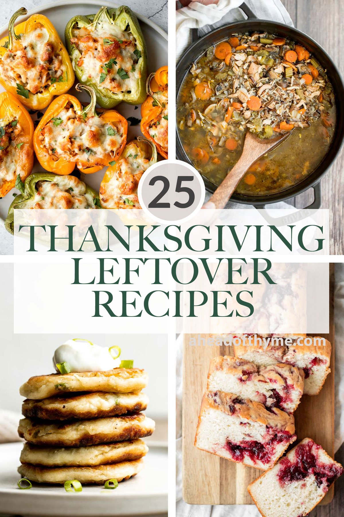 25 Best Thanksgiving Leftover Recipes