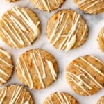 Carrot Cake Shortbread Cookies