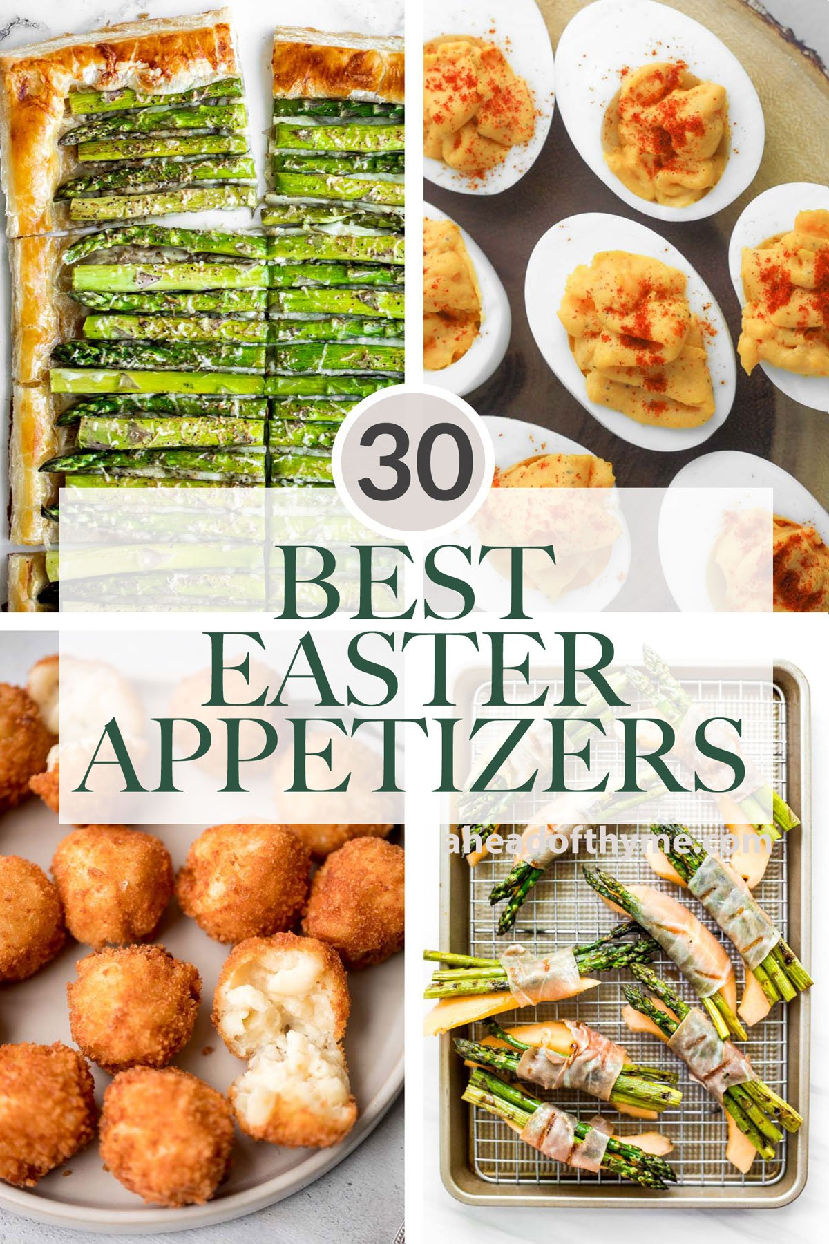 30 Best Easter Appetizers