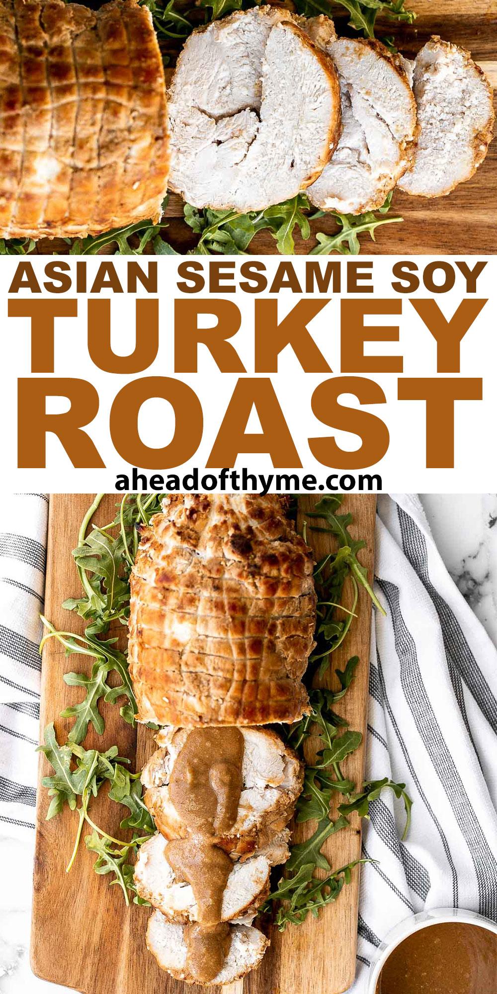 Asian Sesame Soy Turkey Roast