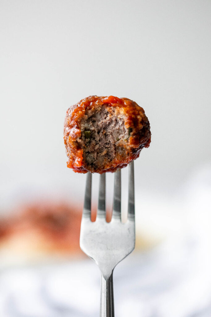 Quick, easy homemade Italian meatballs are juicy, flavourful, and delicious, simmered in a rich and savoury tomato sauce. Make them in just 30 minutes. | aheadofthyme.com