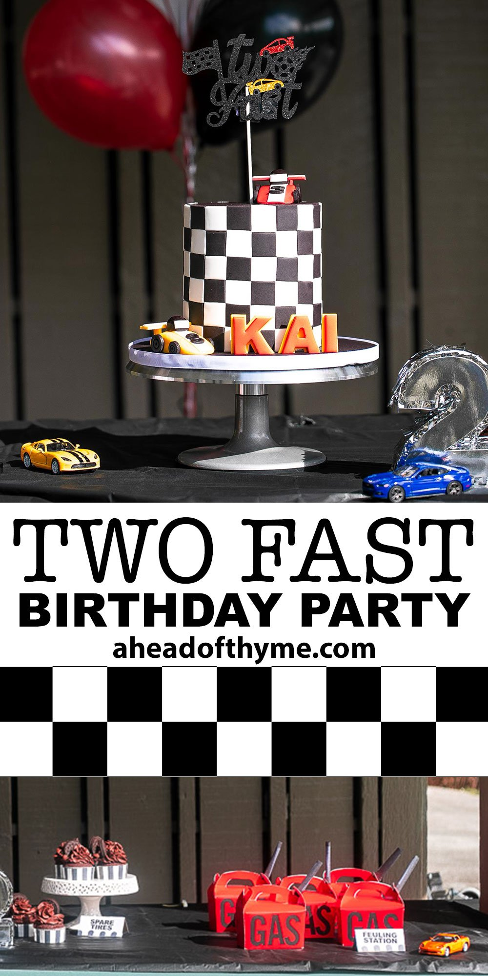 Two Fast Second Birthday Party