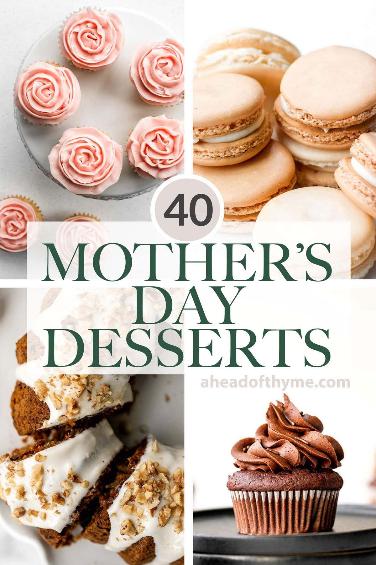 40 Mother\'s Day Dessert Recipes