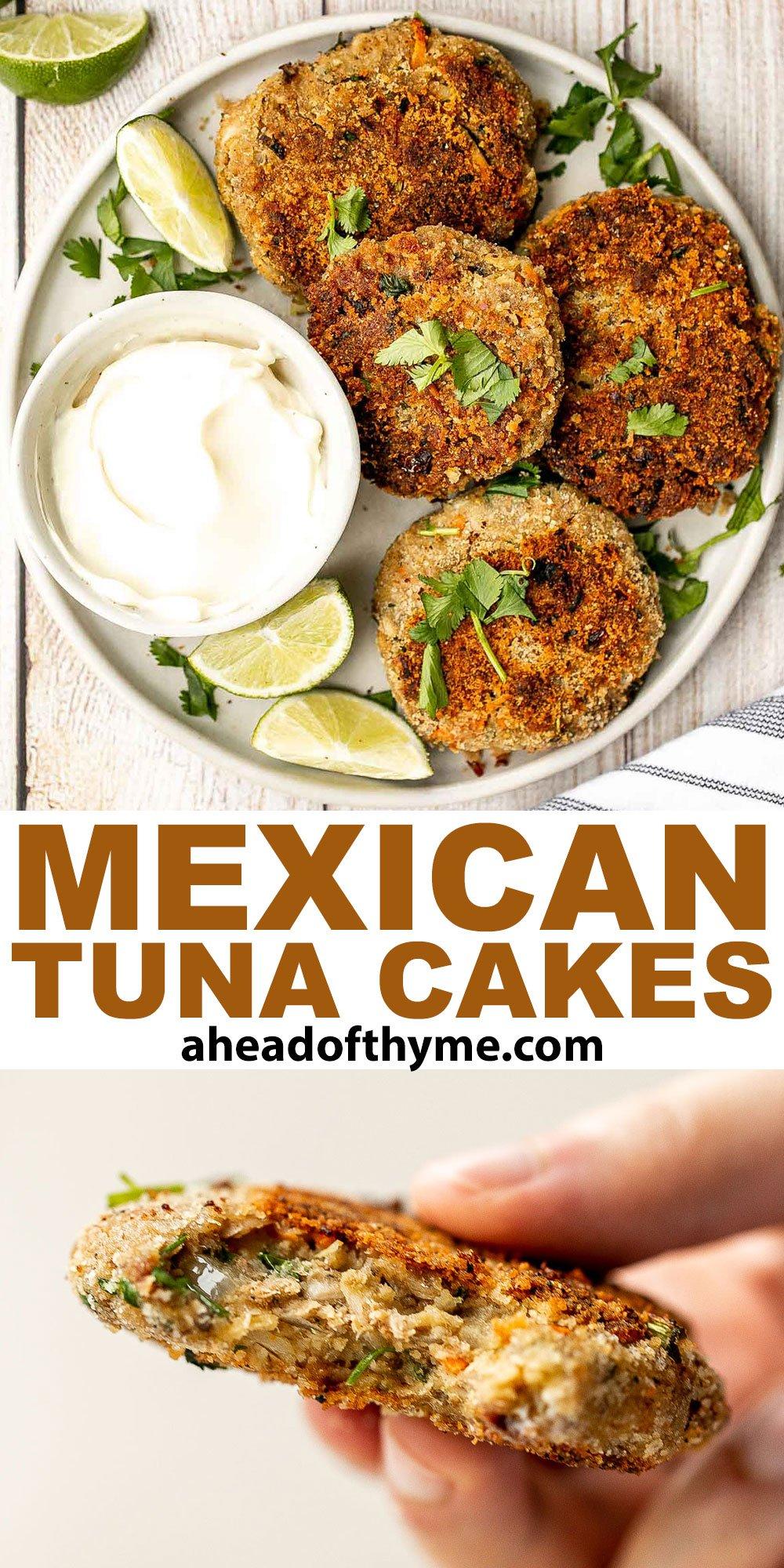 Mexican Tuna Cakes (Tortitas de Atun)
