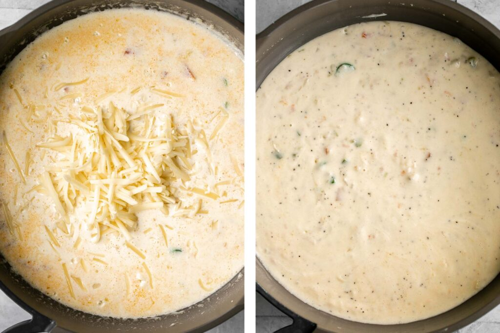 Homemade queso Mexican cheese dip is smooth, creamy, delicious, flavorful, and so easy to make. It's so much better than store-bought in every way. | aheadofthyme.com