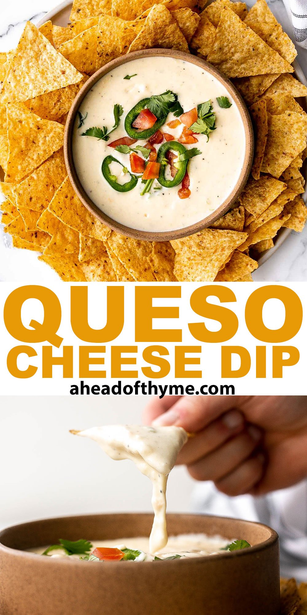 Queso Mexican Cheese Dip