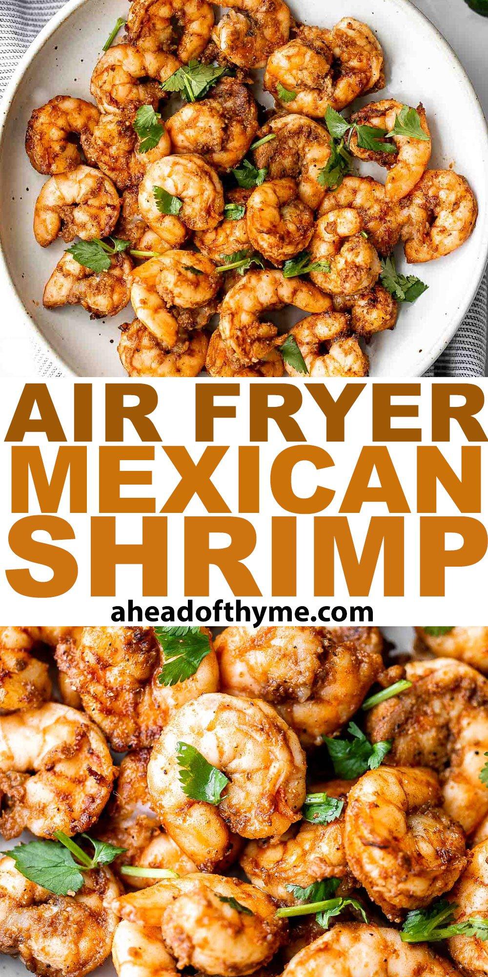 Air Fryer Mexican Shrimp