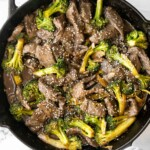 Beef and broccoli stir fry is a classic Chinese-American dish that is delicious, savory, hearty, and saucy. Better than takeout and ready in 25 minutes. | aheadofthyme.com