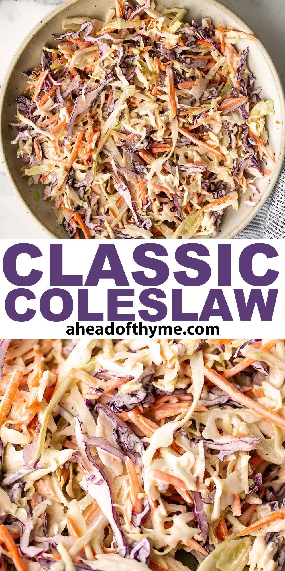 Classic Coleslaw