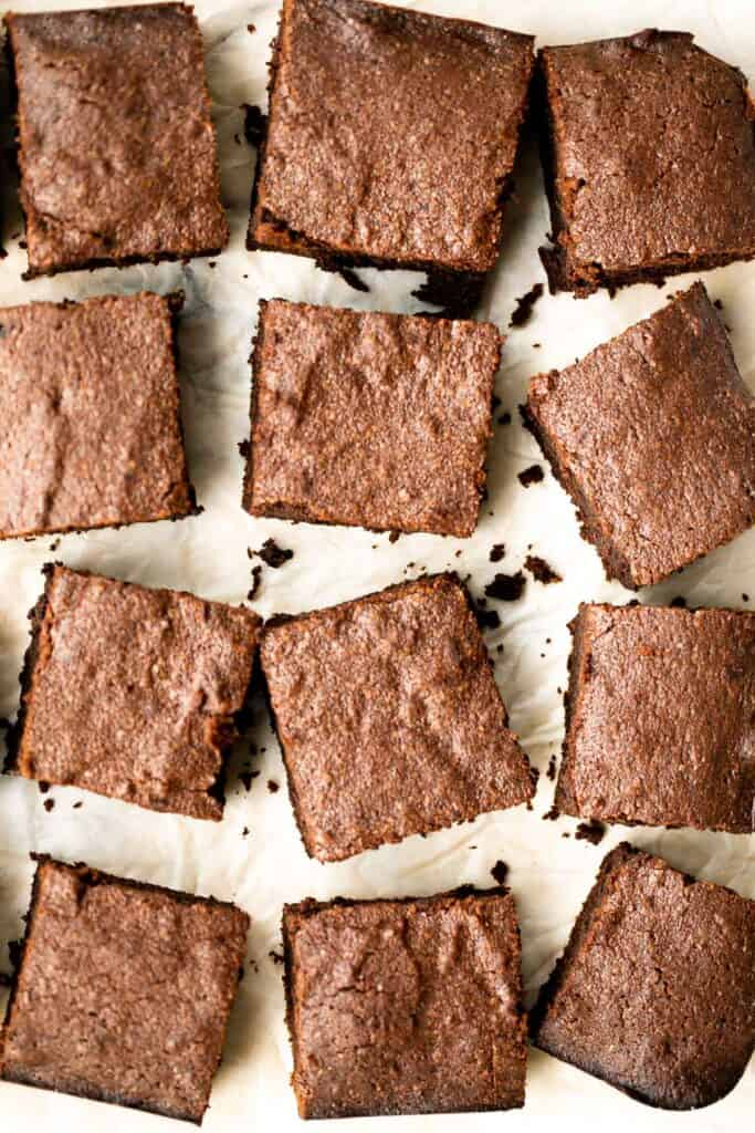 Fudgy brownies are rich, sweet, moist, and decadent. Plus, they're easy to make in one bowl (meaning less cleanup!) and ready in about 30 minutes. | aheadofthyme.com