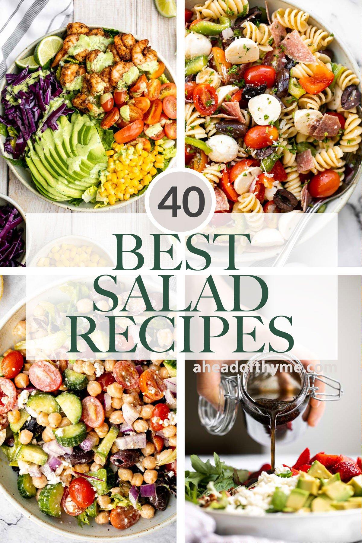 40 Best Salad Recipes