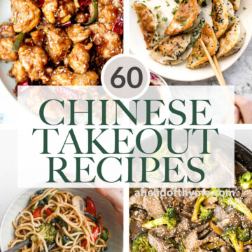 Browse 60 best most popular copycat Chinese takeout recipes to make at home including all the classics, noodles and rice, Asian seafood, dim sum, and more!   aheadofthyme.com