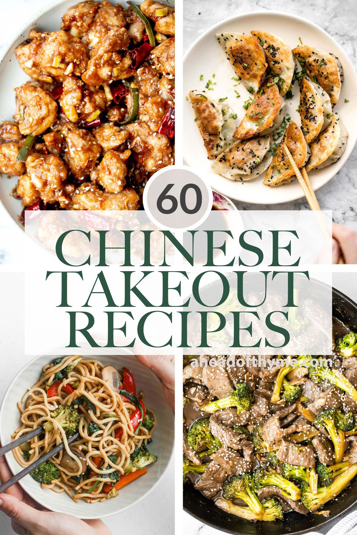 60 Chinese Takeout Recipes at Home