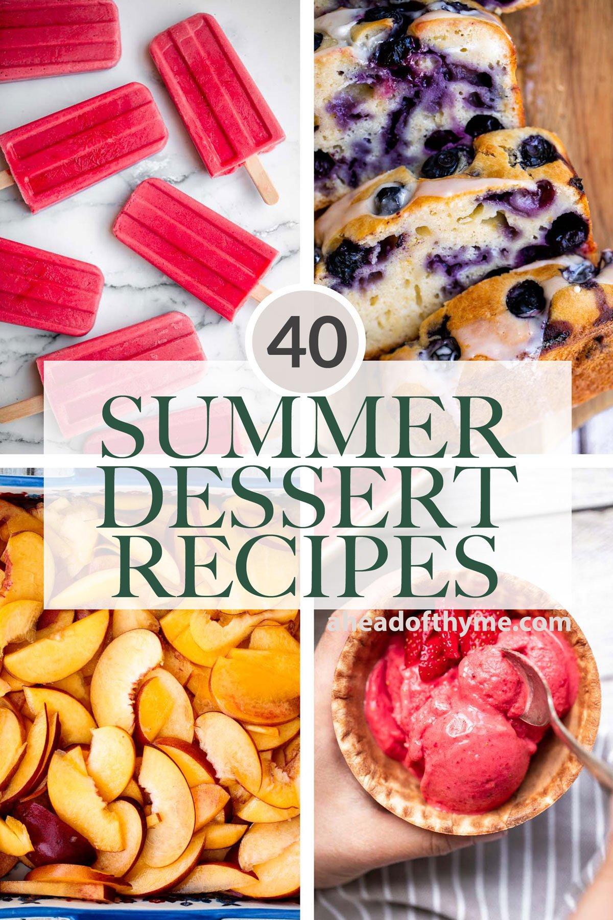 40 Best Summer Desserts