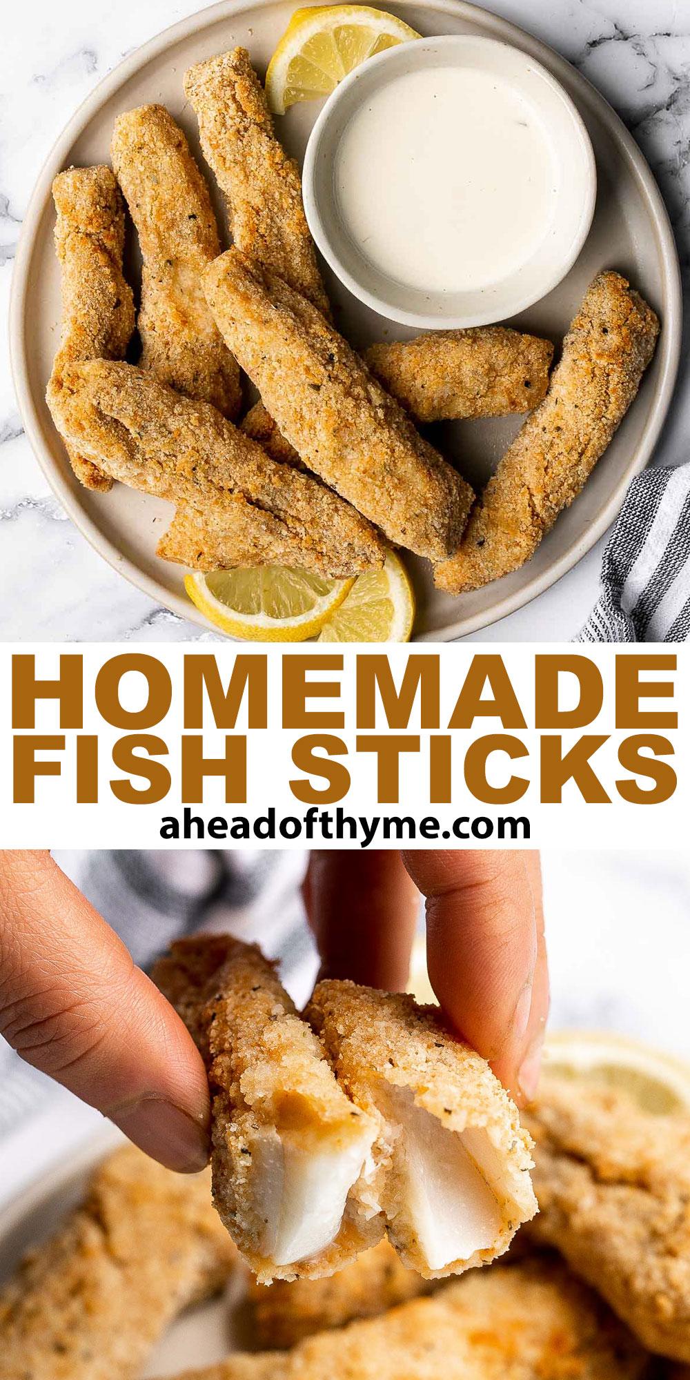 Homemade Fish Sticks