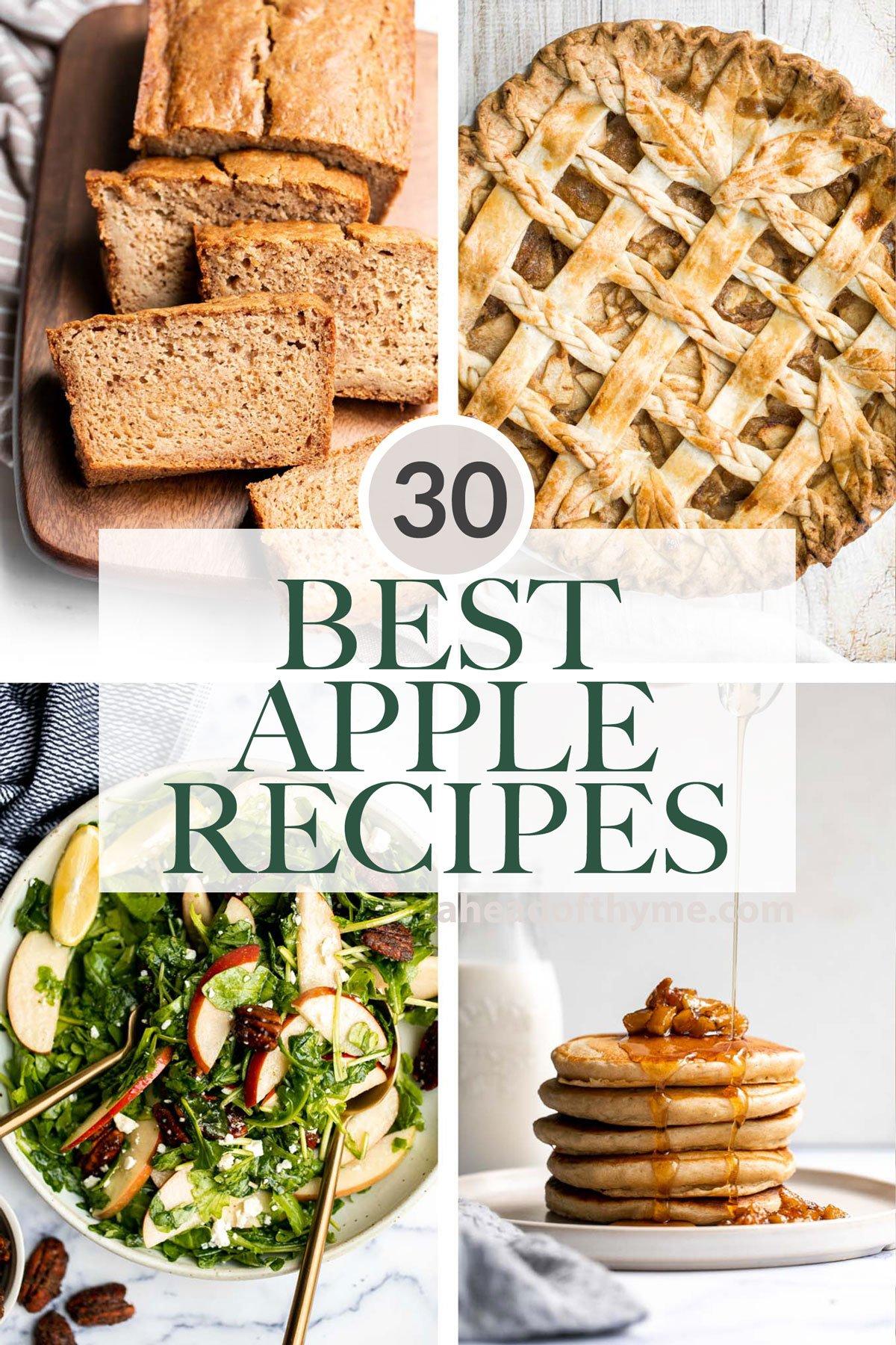 30 Best Apple Recipes