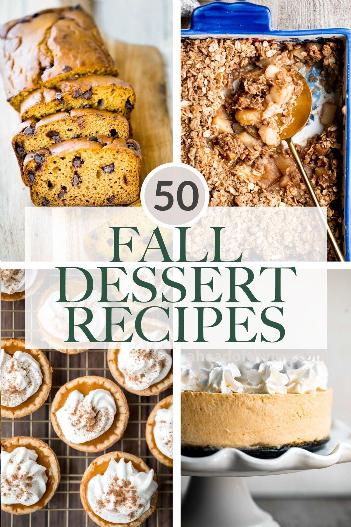 50 Best Fall Desserts