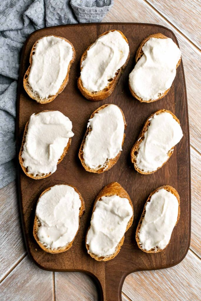 Whipped feta is light, airy, and fluffy. It's an easy yet impressive recipe that takes only 5 minutes to make in a blender with 3 simple ingredients. | aheadofthyme.com